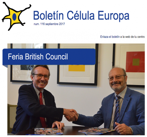 Boletín célula Europa núm. 116 septiembre 2017