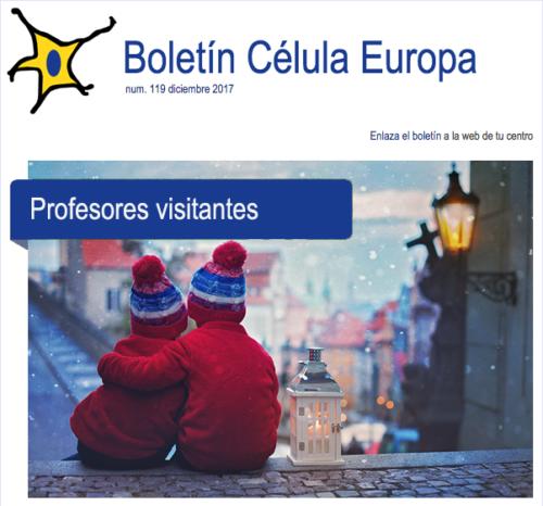 Boletín célula Europa núm. 120 febrero 2018