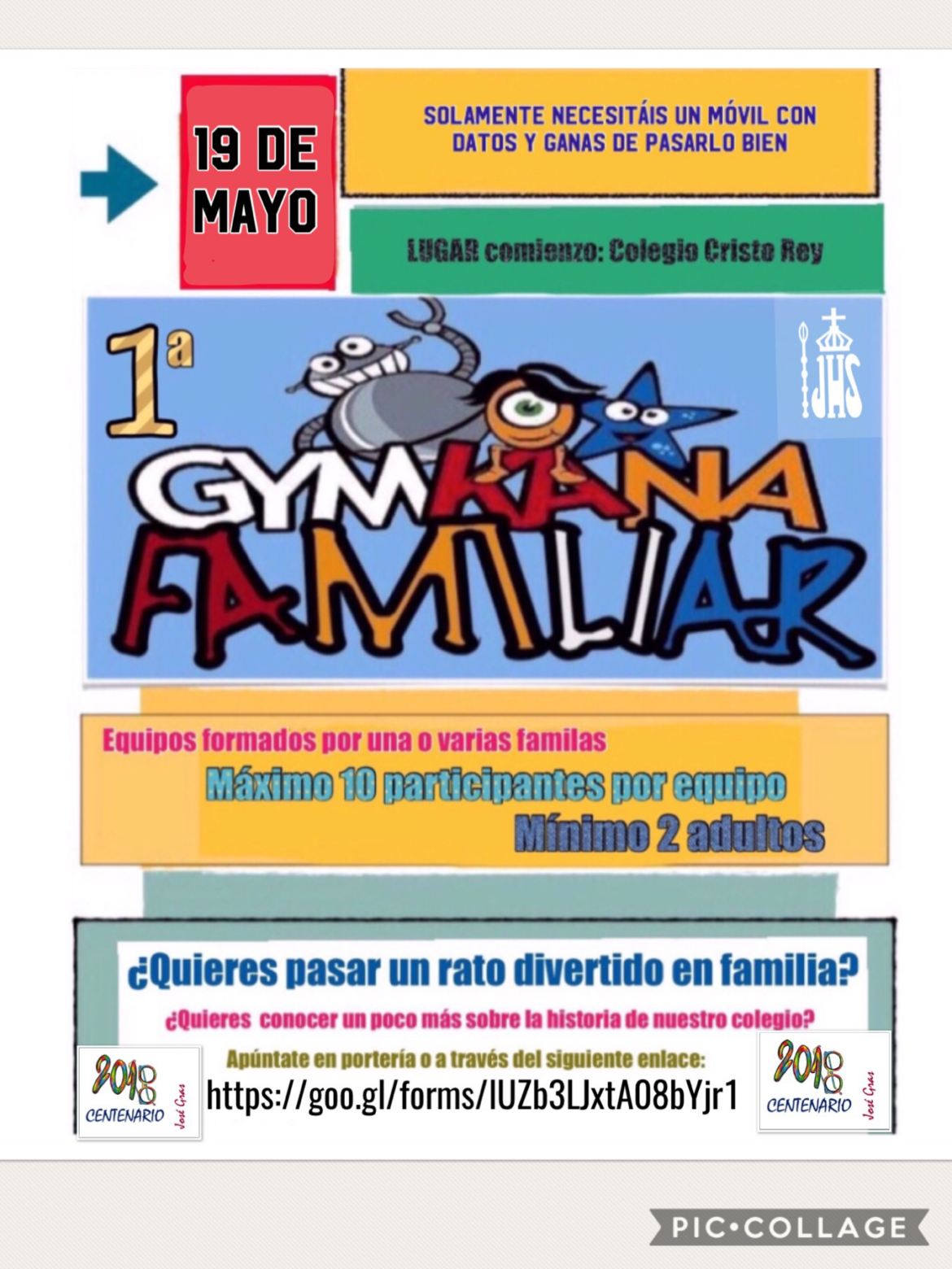 Gymkana familiar – Sábado 19 de Mayo