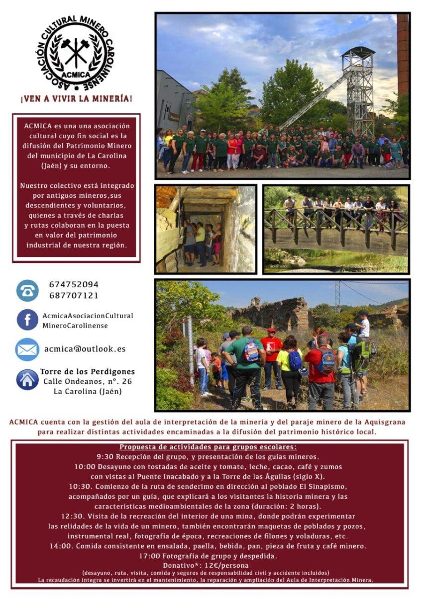 Circular Visita Centro Interpretación Minero