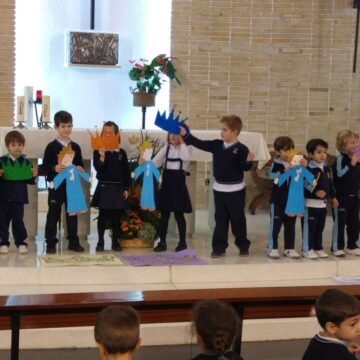 Celebración Cristo Rey infantil