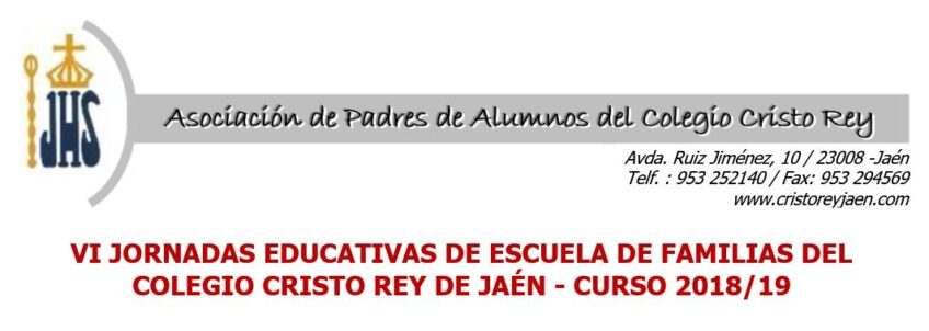 VI Jornadas educativas de escuela de familias del colegio Cristo Rey de Jaén